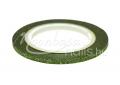Zöld 3D matt díszítő csík,  #106 körömdíszítéshez