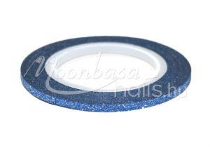 Kék 3D matt díszítő csík  #107