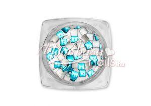 Metál kék Kör alakú szegecs 50db #20-29