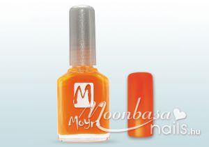 Narancs neon Moyra körömlakk 12ml #063