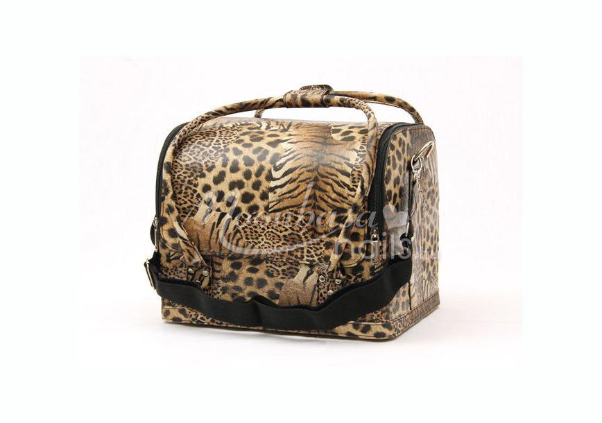 Műkörmös táska  #001-LD Gepárd