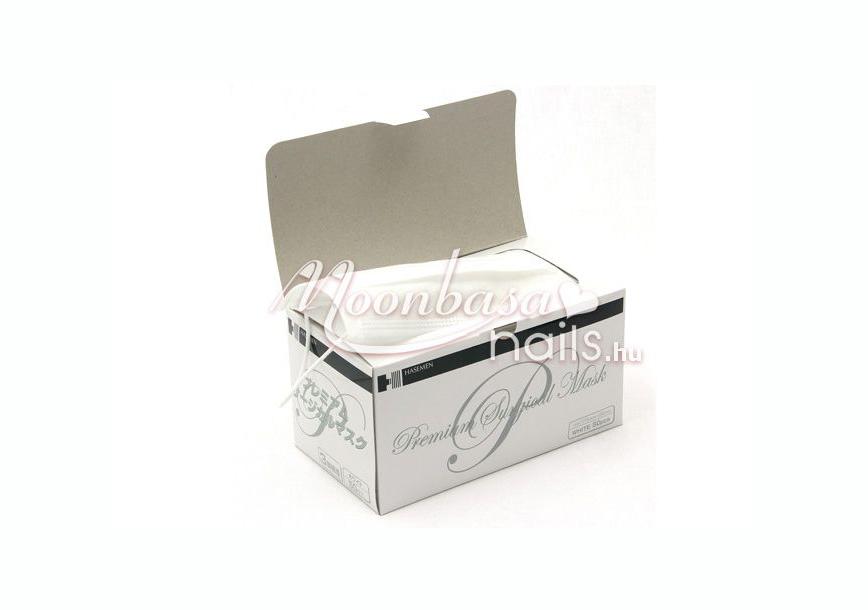 Prémium porvédő maszk 3 rétegű 50 db #153 Fehér