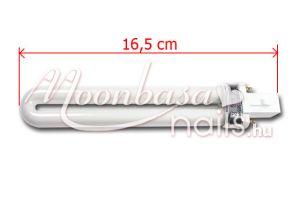 U-alakú UV cső 16,5 cm UV-9W-L