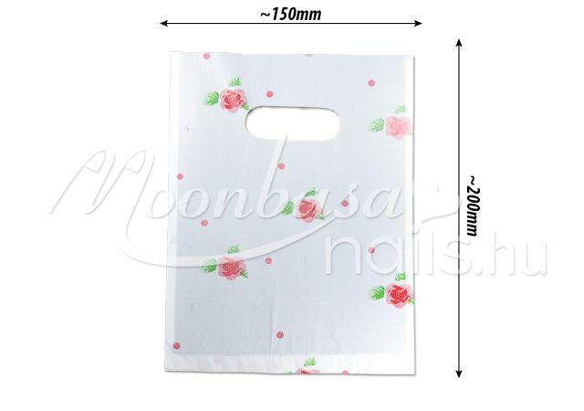 Ajándék szatyor 100db/csomag #501-17 Rózsák