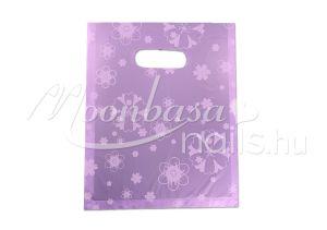 Lila virágos Ajándék szatyor 100db/csomag #502-13