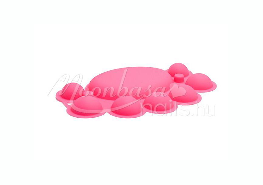 Akril keverő tál   Pink