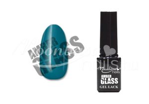 Dark aquamarine Amber glass géllakk 5ml #468