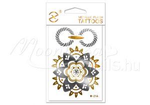 Arany tetoválás 7x10cm W216