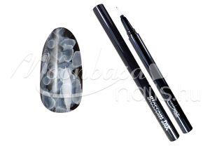 Blossom ink - Nail art brush ecset 1ml #02 Fehér