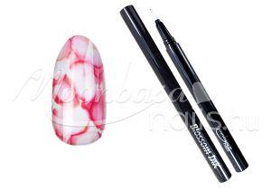 Piros Blossom ink - Nail art brush ecset 1ml #04