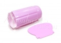 Clear körömnyomdázó szett - Rózsaszín