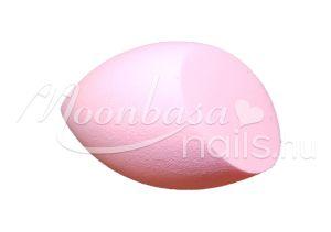 Rózsaszín Csepp alakú kozmetikai szivacs  #311-P