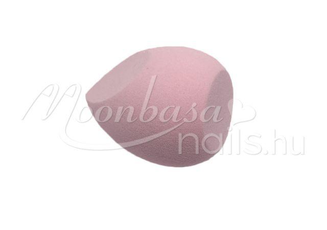 Csepp alakú kozmetikai szivacs  #313-P Rózsaszín