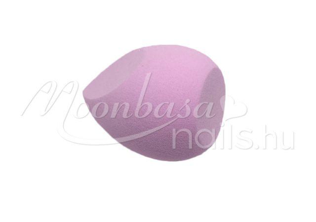 Csepp alakú kozmetikai szivacs  #313-PL Lila