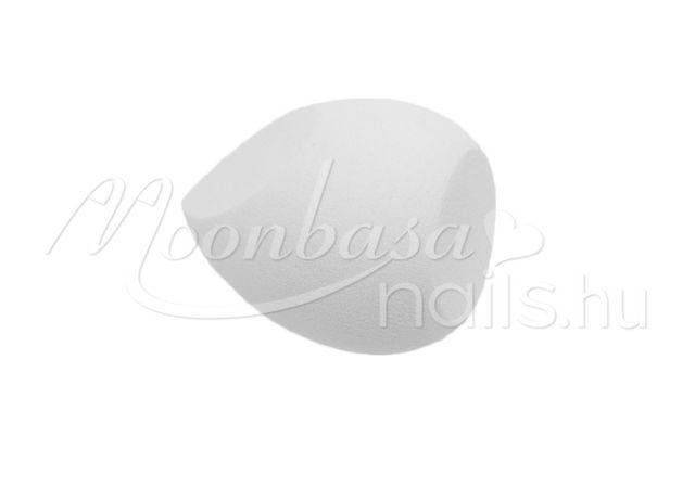 Csepp alakú kozmetikai szivacs  #313-W Fehér