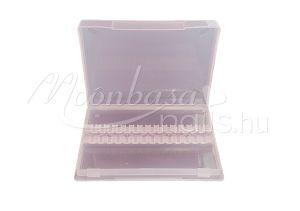 Rózsaszín Csiszolófej tároló doboz  #013