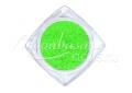 Cukorhatású neon csillámpor 5ml #511 Zöld