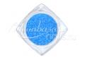 Cukorhatású neon csillámpor 5ml #515 Kék