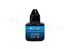 Fekete Diffface-5S GLUE(Professional Grafting Eyelashes Glue) 5ml