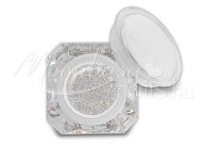 Csillámos ezüstfehér Díszítő zselé 5g C14