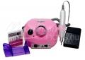 Pink Elektromos csiszológép készlet  DM-202 műköröm építéshez