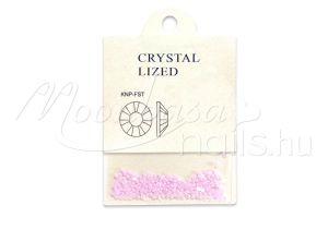 Pink Félkör gyöngy 250 db #024