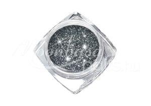 Acélszürke Finom csillámpor 5ml #3904