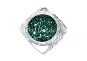 Sötéttürkiz zöld Finom csillámpor 5ml 0620