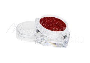 Finom csillámpor 5ml 3203 Piros