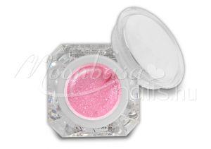 Csillámos pink Fixálásmentes színes zselé 5g F29