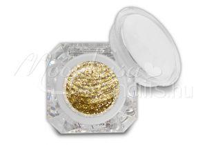 Csillámos arany Fixálásmentes színes zselé 5g F45