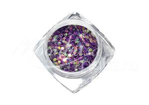 Mély lila Flitterpor 5ml FP017
