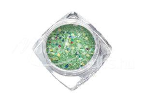 Zöld Flitterpor 5ml FP036