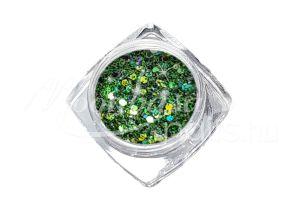 Zöldes barna Flitterpor 5ml FP038