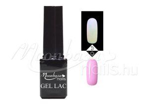 Világos pink Foszforeszkáló géllakk 5ml #630