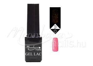 Csillámos rózsaszín Foszforeszkáló géllakk 5ml #636