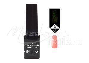 Csillámos rózsakvarc Foszforeszkáló géllakk 5ml #638