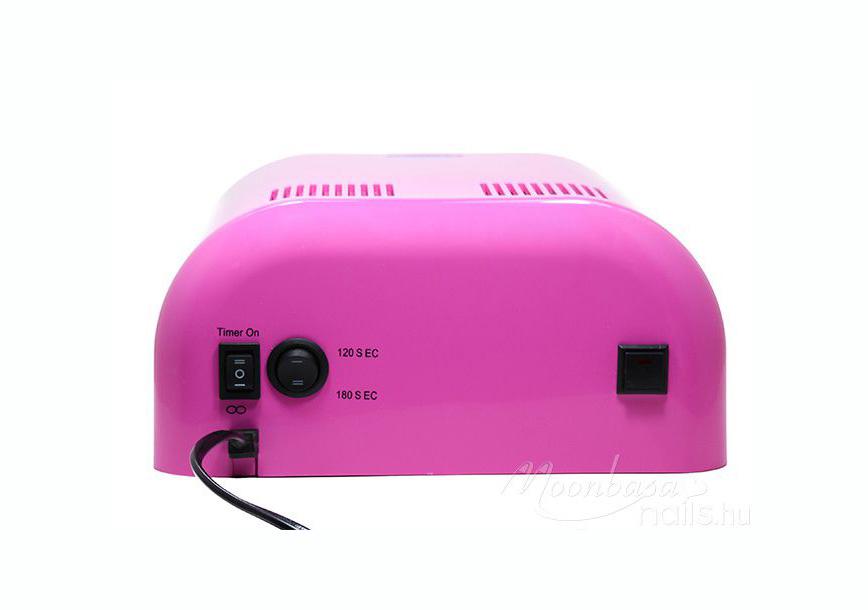 Géllakk induló készlet 36W-os rózsaszín UV lámpával