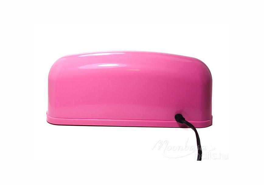Géllakk induló készlet 9W-os rózsaszín UV lámpával