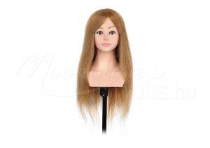Szőke Gyakorló fej-természetes hatású hajból  #322