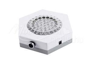 Fehér Hatszögű műkörmös porelszívó kéztámasz 80W  BQ-858-6