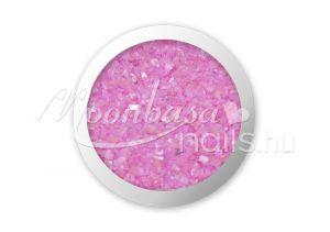 Rózsaszín Kagyló por  #004