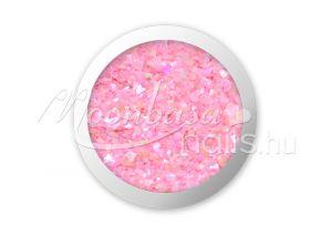 Porcelán rózsaszín Kagyló por  #005