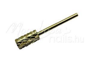 Arany Karbid fej, műköröm csiszoláshoz  #001-2XC