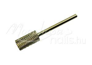 Arany Karbid fej, műköröm csiszoláshoz  #001-C