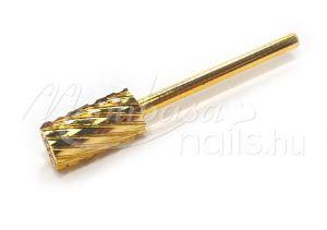 Arany Karbid fej, műköröm csiszoláshoz  #005-3XC