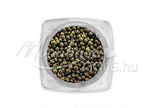 Sötét bronz Kaviár gyöngy  #031