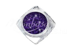 Padlizsán lila Kis méretű flitter csíkok 3g FCS012