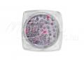 Kör alakú szegecs, , #004, Neon rózsaszín