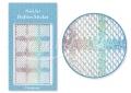 Körömdíszítés sablon – köröm stencil JV201D Diamond